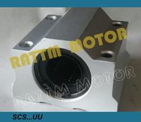 free shipping !! New 4PCS SC16UU SCS16UU 16mm Linear Block CNC Router DIY CNC Parts