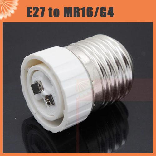 1pcs E27 Male to MR16 G4 Female LED Halogen CFL Light Bulb Base Lamp Socket Adapter Holder Converter(China (Mainland))