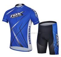 Free shipping  + 14 bt - 0472 blue short sleeve cycling jerseys men breathable perspiration bike unlined upper garment of summer