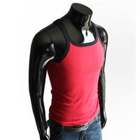 Elegant packing male slim pure cotton vest plus size 5888p15
