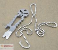 Titanium Ti Bottle Opener Pry Bar Key Chain Pendant Multi Function Hiking EDC Outdoor Tool
