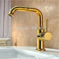 European high-grade gold copper Faucet Bathroom Basin faucet hot mixing water faucet se348