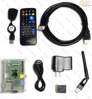 Raspberry Pi Model B 512M (rev2), XBMC Media Centre, Case, Remote, 8GB, Wifi