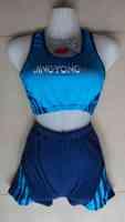 Lovely split swimwear swimsuits women bathing suits hot seaside bathing suit Size 4 Color