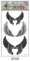 (Less than 4 pieces, no tracking)A19510 wholesales cheap drop sales tattoo  one-time factory sexy Tattoo Stickers