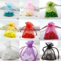 free shipping   7*9cm small   Sheer Organza gift  bag  for  wedding  /party /christmas 200pcs /lot