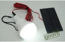 Solar Power LED Light Bulb Outdoor Solar Lamp Green Energy Ground Buried solar deck Light 150LM(China (Mainland))