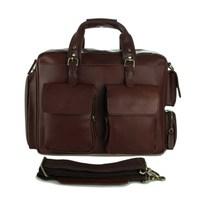 wholesale factory sales men genuine leather handbags ,vintage cowhide travel bags laptop bags 7219 free shipping