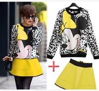 New 2015 Free Shipping Sport Suit Women Hoody Brand Sweatshirt Tracksuits For Women Sportswear 2 Piece Set Women Pullovers