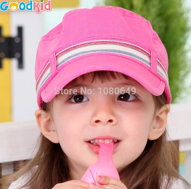new 2014 baby Cap Spring and Summer Child Hat Girls Sun Hat Children Beret Sports Cap Fishman hat(China (Mainland))