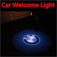 5W Car Led Door Light for BMW Led Logo Light Led Car Decoration Ghost Shadow Light lamp Welcome light Free Shipping