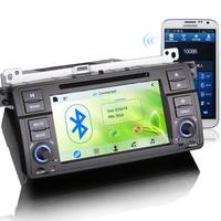 KS7046 7'' CAR RADIO BLUETOOTH CAR VIDEO PLAYER GPS navigation WITH WIFI/3G/RDS/SWC/RMVB/VMCD FOR bmw E46 M3 Rover 75 MG ZT