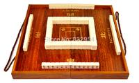Free shipping mini 4 colours 20mm travel Mahjong hot selling Majiang and Folding mahjong table