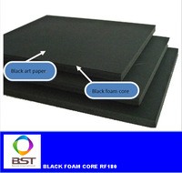 RF180,Black paper-faced Black Foam Core ,1220MMX2440MMX5MM 25PCS/CARTON