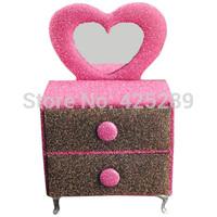 Cute Creative European Fashion Home Decoration Furniture Multifunction Storage Box Gift organizer Birthday Wedding Make up 08