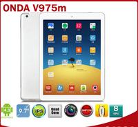 Onda V975M 9.7 inch Quad Core Tablets Cortex A9 2.0GHz Retina Screen 2048x1536 2GB/32GB HDMI Bluetooth Android 4.3