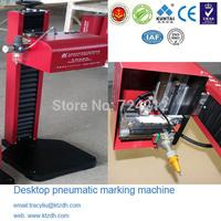 China marking machine FACTORY!Bench pneumatic dot peen marking engraving equipment for metals on sale