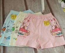2014 HOT ! Cartoon 70% Bamboo fiber and 30%Cotton Baby panties for Infant Short panties & Boy and girl Color (China (Mainland))
