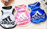 Pet T-shirt Pet Clothes Summer Vest Teddy/Pomeranian/Bichon Frise Summer Wear T-shirt Puppies Dog Clothes