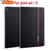 Business PU leather stand case for ipad air/5 ,Torras Brand  Hit color series for Apple ipad air/5(with screen protector)