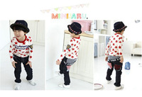 Special T-Shirts Boy New 2014 Autumn Boys Children's Long-Sleeved T-Shirt Frozen T Shirt Full Of Star Clothing Free Shipping