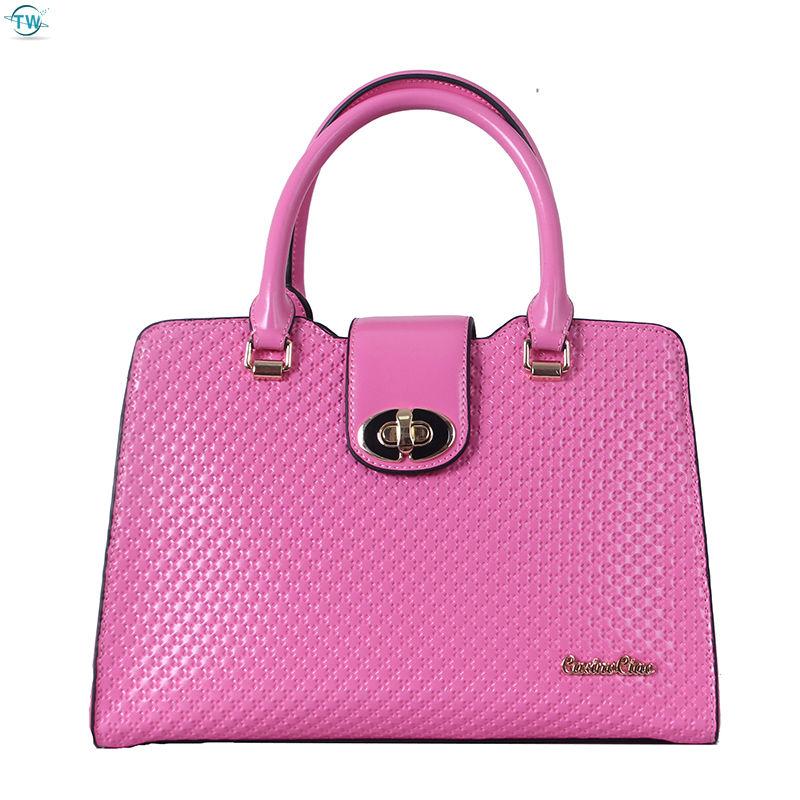 2014vintage woven bag fashion hand bag real leather durable bag mother's genuine leather handbag free shipping(China (Mainland))
