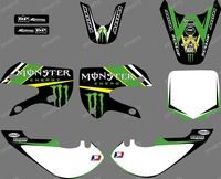 0055 new  style TEAM  GRAPHICS&BACKGROUNDS DECALS STICKERS Kits for KAWASAKI KLX110 2002-2009 KX65 2000-2013