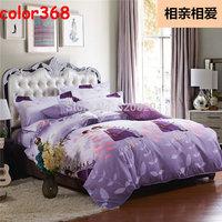 Wholesale Bedding set Fashion bedding Sets Duvet cover Bed Sheet pillowcase Bedding Home textile 4pcs Bedclothes Free shipping