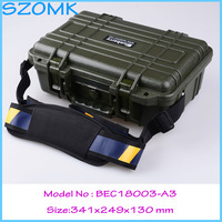 Impact resistant sealed waterproof safety case canvas tool bag multifunction ip68 plastic tool box341*249*130mm