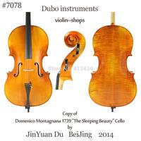 """Copy Domenico Montagnana """"The Sleeping Beauty""""4/4 Cello """"All European Wood"""""""