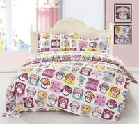 Plants vs zombies Home textile Fashion cotton comforter set 4pcs bed sheet quiltcover beding 4pcs set