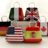Mini Handbag Small Tin Jewelry Candy Storage Gift Box Grocery Tooth Box 15PCS/PACK Send Randomly