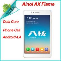 Original Ainol AX Fire/Flame 7 Inch Octa Core MTK6592 Android 4.4 1GB Ram 16GB Rom WCDMA GSM