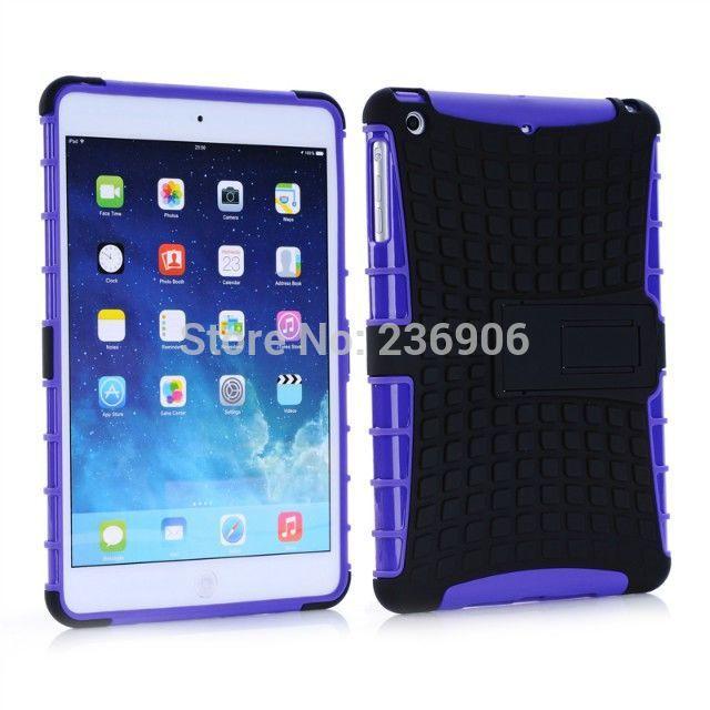 TPU+PC hard case for iPad mini Retina with stand(China (Mainland))