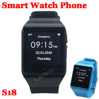 S18 Watch Unlocked Phone Bluetooth Smart Wristwatch SmartWatch 1.54inch GSM SIM FM Sync Call Android OS Anti Lost Handsfree New