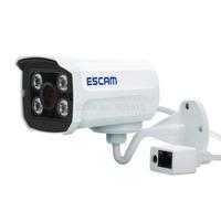 2014 Escam brick QD300 Mini Camera 720P IR Bullet H.264 1/4 CMOS IP Camera 3.6mm Lens CameraNight Vision P2P 1.0 MP HD Network
