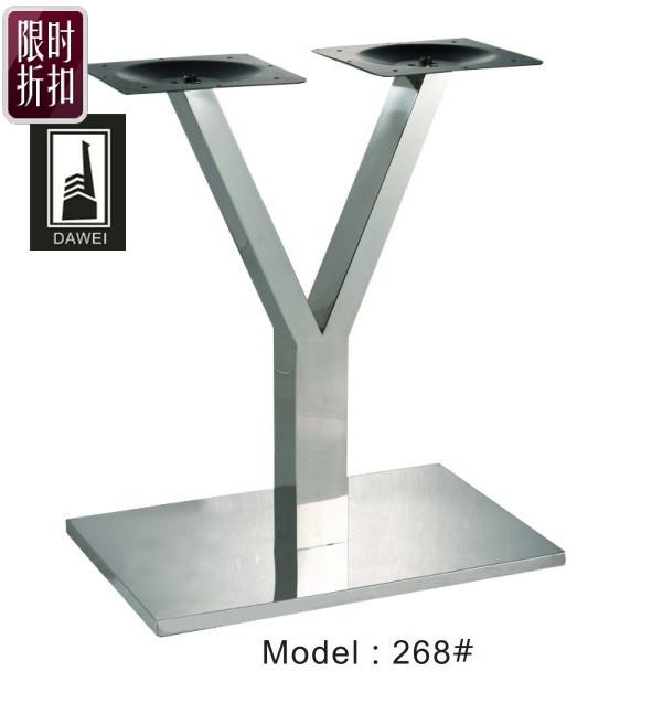 Paslanmaz çelik yemek masa ayağı masa standı masası uzun masa