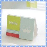 [Amy] free shipping 5pcs/lot Creative stationery post-it notes Vertical note book high quality on Amy shop