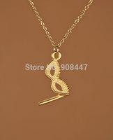 30 PCS- mix color order Masquerade mask necklace - gold mask necklace - drama - opera mask necklace -Free shipping