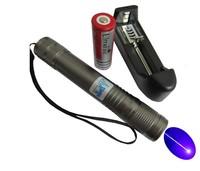 Bright 445 Blue 2W Handheld Waterproof Laser Pointer Light Pen Lazer lighting free shipping
