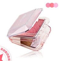 Franch Fall in love blush rouge blush brush powder blusher print high quality make up gift set 2pcs/lot