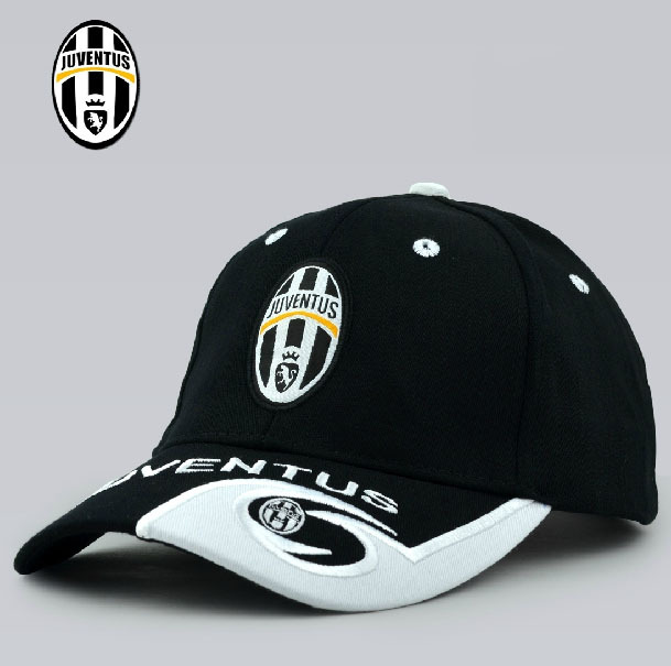 Hot! 2014 Fashion Juventus Hat Sports Badge Baseball Cap Soccer Club Juventus Peaked Cap Fans Souvenirs(China (Mainland))