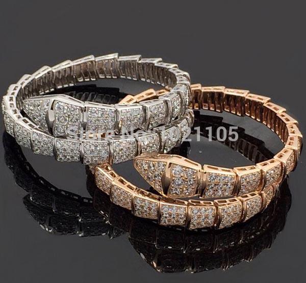 Free Shipping (1 piece/lot)New arrivl famous brand bracelet Sterling silver bangle Hot sales brand bangle snake bracelet(China (Mainland))