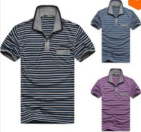 2014 new men's spring/summer brand polo short-sleeve shirt casual camisa camisetas shirt slim fitness blusas tees tops clothes