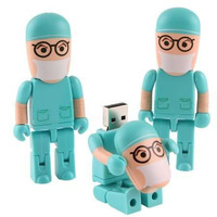 New hot 8GB beautiful doctor Model USB 2.0 Memory Flash Stick Pen Drive --free shipping