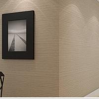 10M Beige/Brown/Grey/Pink/Purple striped wallpaper modern pvc vinyl waterproof wall paper fine decor background wall