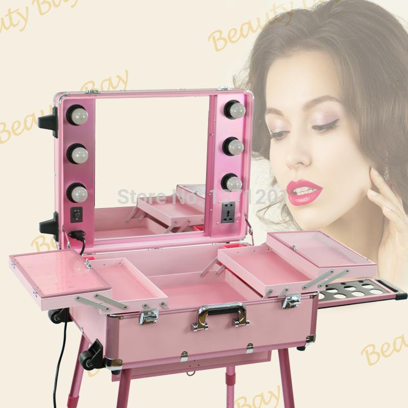 Makeup Trolley Train Case