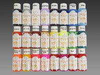 Acrylic Nail Powder Acrylic Liquid free Shipping 24 Colors Professional Quality Airbrush Paint Craft Nail Art Painting Figure