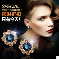 Free Shipping European and American retro earrings women earring fashion jewelry earrings   Fast Delivery