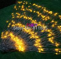 Free Shipping 220V AC 6x3m flashing Waterfall led string light curtain light  LED Holiday Christmas Decoration